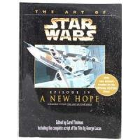 China Star Wars Art of SW A New Hope Trade Paperback Book on sale