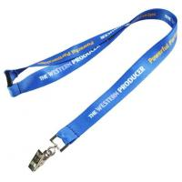 Buy cheap Quality Badge Holders Company Lanyards for Guys from wholesalers
