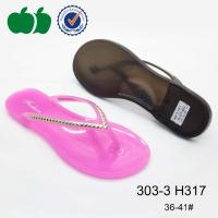 Buy cheap Wholesale cheap lady flat innovative design pvc flip flops slippers from wholesalers