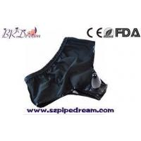 Buy cheap Fetish Latex Women's Men's Adult Wear Underwear With Anal Butt Plug Panties Male Bondage Restraint from wholesalers
