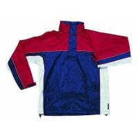 Buy cheap Polyester PVC Lined Waterproof Rain Jacket With Hood from wholesalers