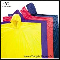 Buy cheap Reusable Yellow Raincoat Poncho For Rain Clothes For Work from wholesalers
