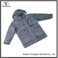 Buy cheap Grey Parka Coats For Men from wholesalers