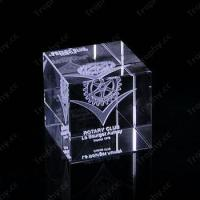 Buy cheap Cube Crystal Trophy Award Item#: CCT-Cube-1201 product