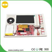 Buy cheap LCD PCBA Video Brochure Modules for Greeting Card and POS Advertisement product