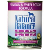 Buy cheap Natural Balance Canned Dog Food, Grain Free Limited Ingredient Diet Venison and Sweet Potato Recipe from wholesalers