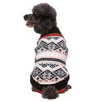 Buy cheap Dogs Blueberry Pet 12-Inch Nordic Fair Isle Snowflakes Dog Sweater, Medium from wholesalers