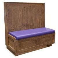 Buy cheap Double Vintage Distressed Wood Booth from wholesalers