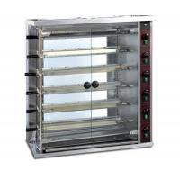 6 layers gas chicken rotisserie machine