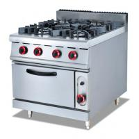 Buy cheap 4 burner gas cooking range with gas oven from wholesalers