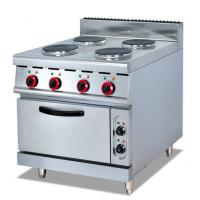 Buy cheap Electric 4 burner stove with oven from wholesalers