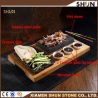 Buy cheap Korea BBQ cookware/ High quality lava grill steak stone/Lava cooking stone from wholesalers