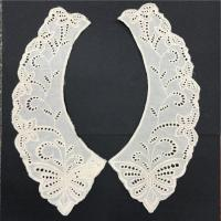 Buy cheap Vintage Swiss White Top Quality Cotton Antique Broderie Anglaise Embroidered Collar from wholesalers