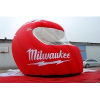 Buy cheap Supplier Activities Giant Mascot Sports Event Entrance Inflatable Football Helmet Tunnel Tent from wholesalers