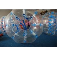 Buy cheap Fashionable Inflatable Body Zorb Ball Track Football Sports Human Bumper Bubble Water Entertainment from wholesalers