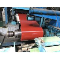 Buy cheap Venting Lines Steel Sheet Coil, 2H Pencil Hardness Pre Painted Sheet Metal from wholesalers