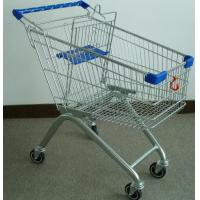 Buy cheap 100L European Style Shopping Trolley and Carts for Supermarket and Store from wholesalers