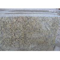 Buy cheap Tiger Skin Gold Yellow Granite Countertop Tiles , Granite Kitchen Tiles Polished from wholesalers
