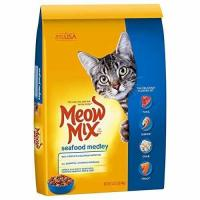 Buy cheap Meow Mix Seafood Medley Dry Cat Food, 14.2 lb from wholesalers