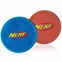 Buy cheap Nerf Dog Nylon Flying Disk Dog Toy, Large, 2-Pack, Blue and Red from wholesalers