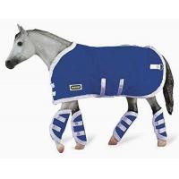 Buy cheap Breyer Traditional Blanket & Shipping Boots Horse Toy Accessory Set, Blue from wholesalers