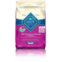 Buy cheap BLUE Life Protection Formula Senior Small Breed Chicken and Brown Rice Dry Dog Food 15-lb from wholesalers