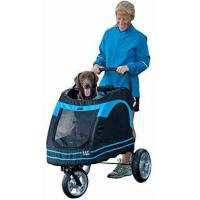 Buy cheap Pet Gear Roadster Pet Stroller for Cats and Dogs, Black/Blue from wholesalers