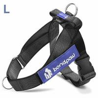 Buy cheap Bondpaw Large Dog Harness 2nd Gen No Pull Dog Harness with D Ring in Front, Black from wholesalers