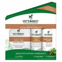 Buy cheap Vet's Best Flea & Tick Total Protection Kit for Dogs, 3 Pcs Set from wholesalers