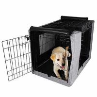 Buy cheap Petsfit Crate Cover for 36 Inches Wire Crates,Size 4000,Two Doors Grey from wholesalers