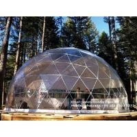Buy cheap Galvanized Steel Frame Geodesic Dome Marquee Tent for Outdoor Party from wholesalers