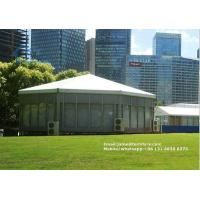 Buy cheap Multi Sided Big Marquee Tent Aluminium Frame with Glass Wallls from wholesalers
