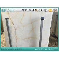 Buy cheap Iran White Onyx Snow White Onyx Stone Slabs for Bathroom Vanity Top and Flooring Tiles from wholesalers