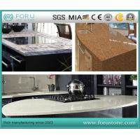 Buy cheap Artificial Quartz Stone Coffee Color for Quartz Tiles Composite Countertops from wholesalers