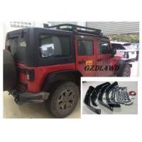 Buy cheap Jeep Wrangler Eyebrow 4 Doors , JK Crusher Wheel Arch Flares With Lights from wholesalers