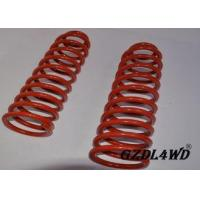 China Red 4X4 Leveling Lift Kit Suspension Coil Spring Parts For Jeep Cherokee XJ on sale