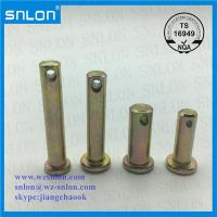 Buy cheap Zinc Plated Carbon Steel Clevis Pin from wholesalers