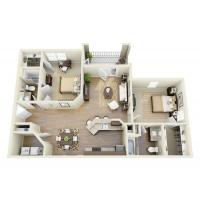 Buy cheap 2 Bedroom 2 Bath Apartments from wholesalers