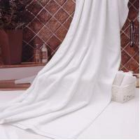 Buy cheap Plain White Hotel Slippers in Stock Close Toe Terry Cloth Hotel Slippers Cheap from wholesalers