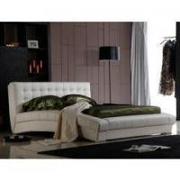 Buy cheap Biscayne West Sand Upholstered Canopy Bed by Michael Amini from wholesalers