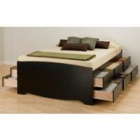 Buy cheap Wave Modern Bed | Black from wholesalers