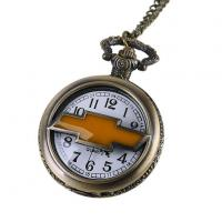 Buy cheap Custom Car Brand Pocket Watch Necklaces Angraved Pocket Watch Chain FOB Japan Movt from wholesalers
