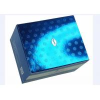 Colored Corrugated Cosmetic Packaging Boxes Gold Stamping With Embossed