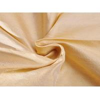 Buy cheap Linen fabrics yard-dyed interweave doupion silk from wholesalers