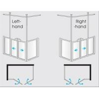 Buy cheap Half Height Shower Doors and Screens Option D from wholesalers