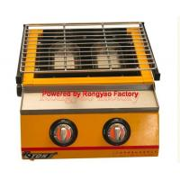 Buy cheap RY-ET-K111 Luxury Two-head environmental roaster gas Home barbecue grill machines from wholesalers