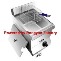 Buy cheap 11L tank LPG or Natural 1 Tank gas fryer Gas frying machine from wholesalers