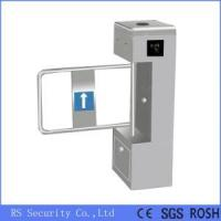 Buy cheap SS304 Automatic Turnstiles Supermarket Swing Barrier Gate from wholesalers