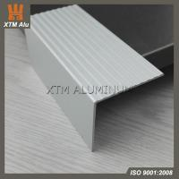 Buy cheap Aluminum Stair Nosings Trim with Anodised Sliver Matt from wholesalers