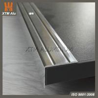 Buy cheap Aluminium Extrusion Stair Nose Edge Trim Profile Polished Colour for Step Decoration & Safety from wholesalers